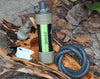 emergency survival tool water filter system with 2000 Liters filtration capacity