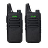 2Pcs/lot Black handheld transceiver cb radio mini radio walkie talkie KD-C1 UHF 400-470 MHz