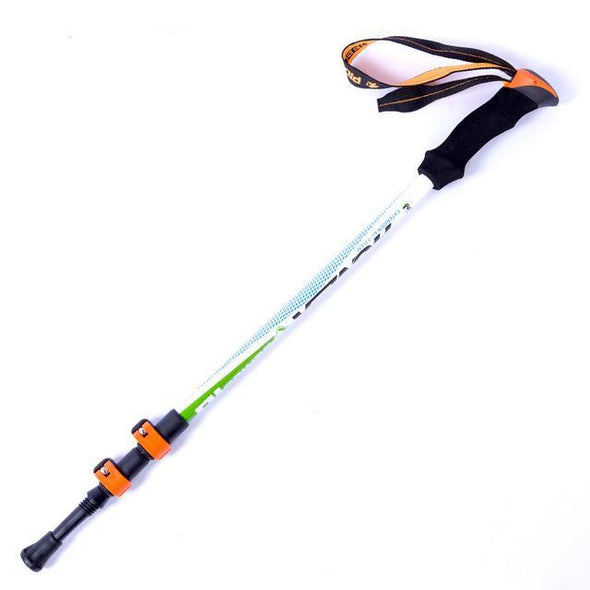 SUPER HIKER! Ultra-light Adjustable Hiking & Trekking Stick/Carbon Fiber