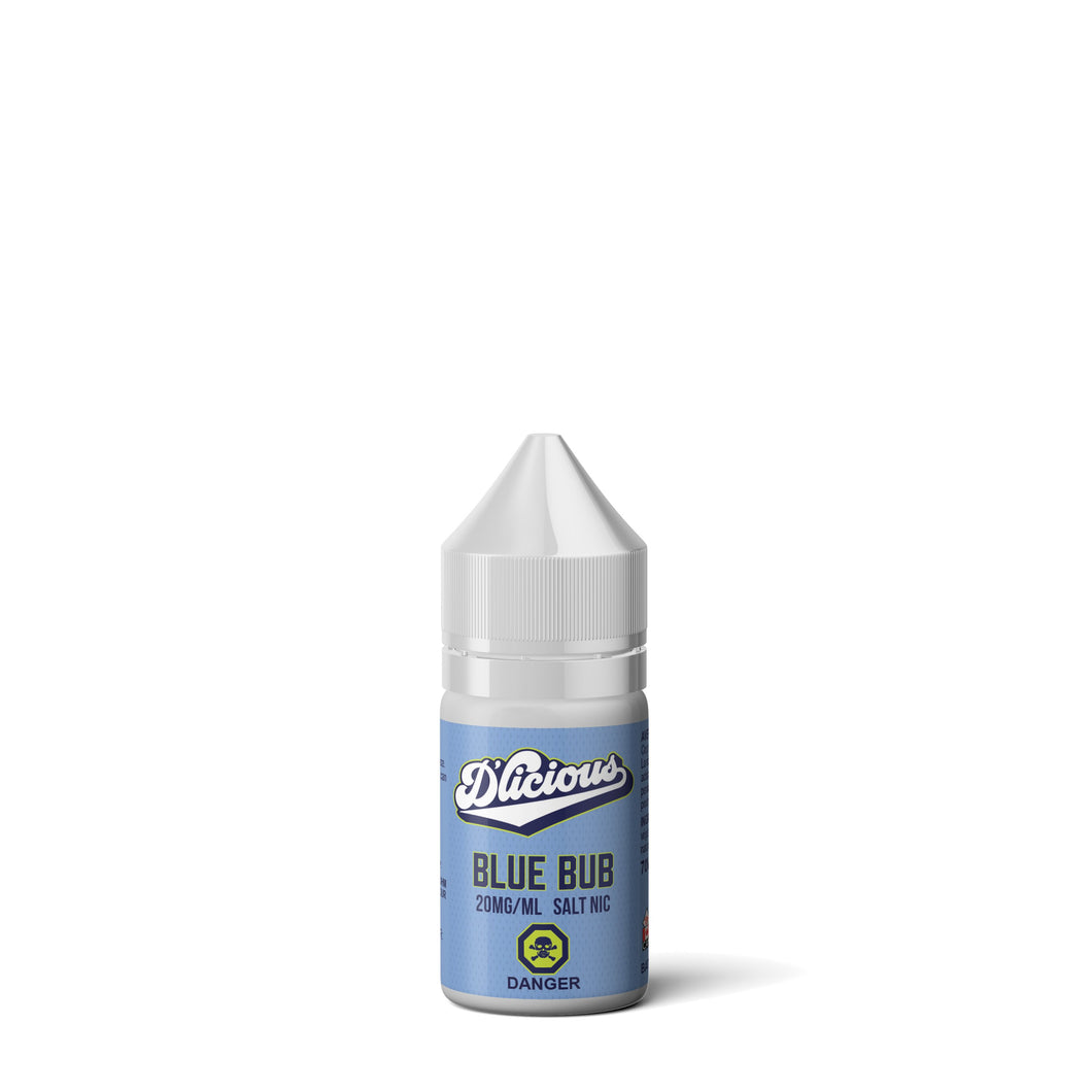 D'Licious Salts - Blue Bub