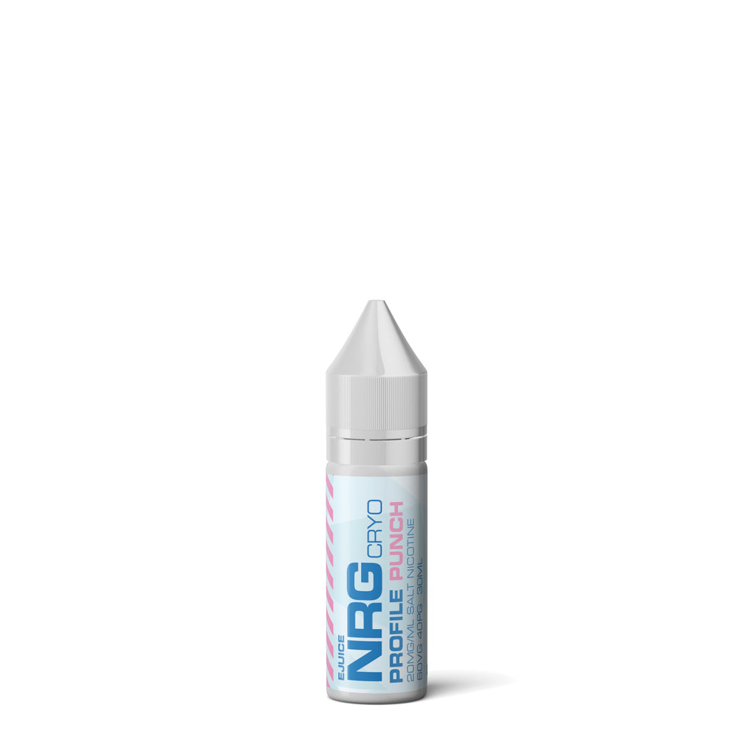 NRG CRYO Salt 15ml - Punch - CLEARANCE