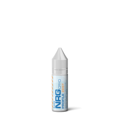 NRG CRYO Salt 15ml - Zest - CLEARANCE