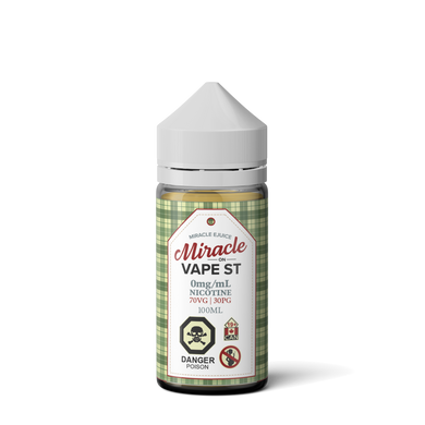 Miracle Ejuice - Miracle on Vape St.