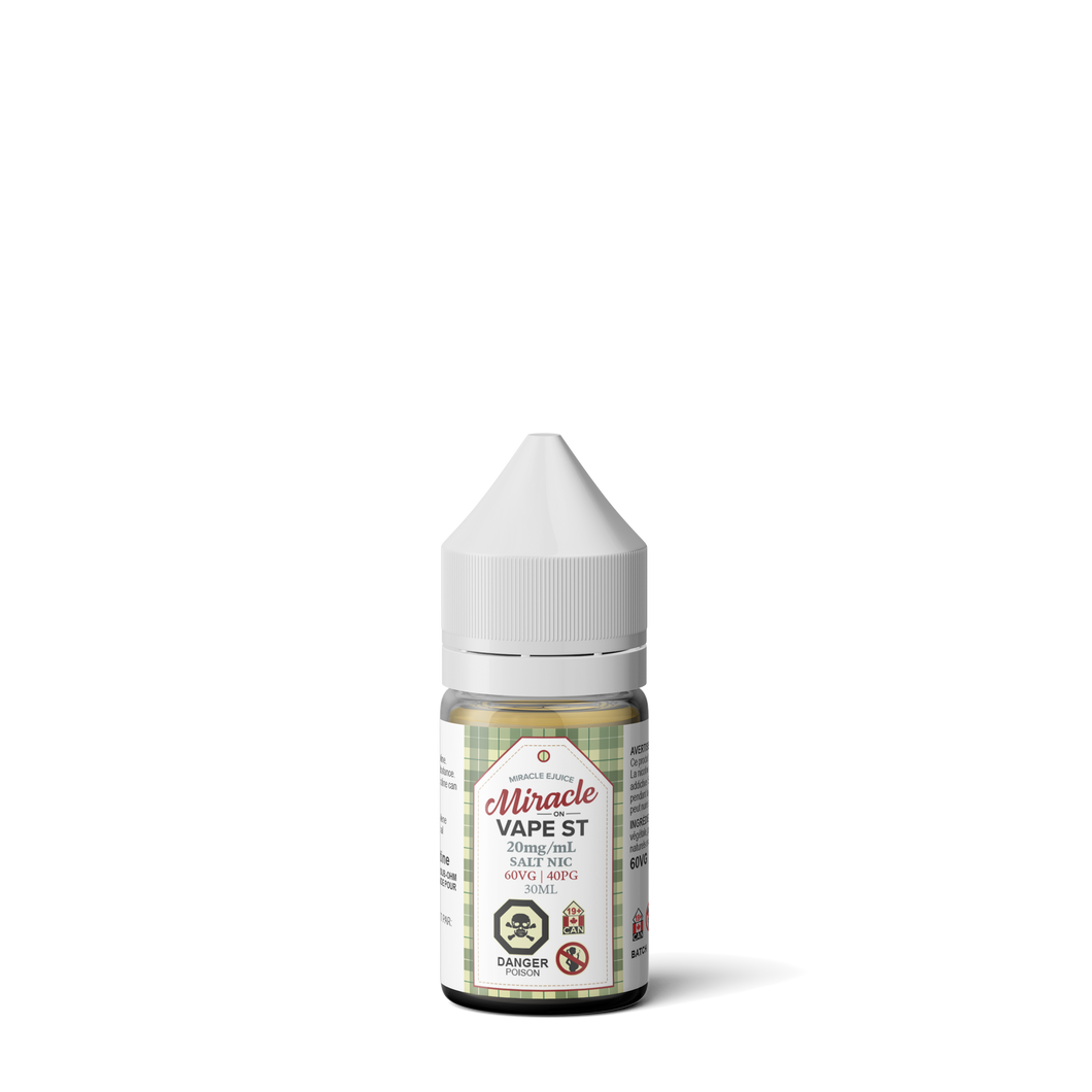 Miracle Ejuice Salts - Miracle on Vape St.