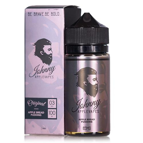 Johnny Apple Vapes Apple Bread Pudding