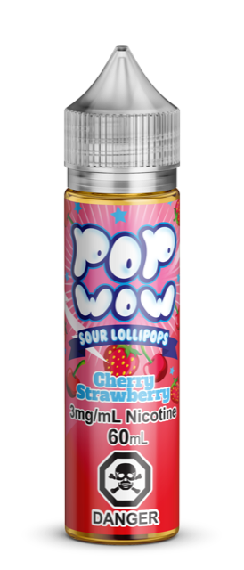 PopWow Cherry Straw