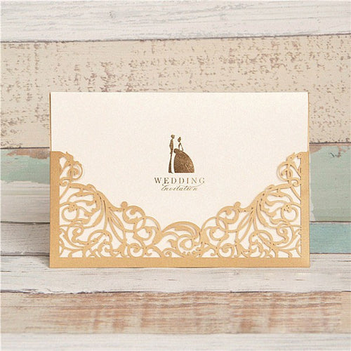 Elegant Details Pocket Invitation