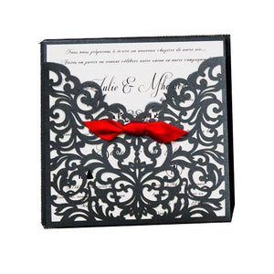 Ribbon Wedding Invitation