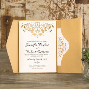 Lucy Pocket Invitation