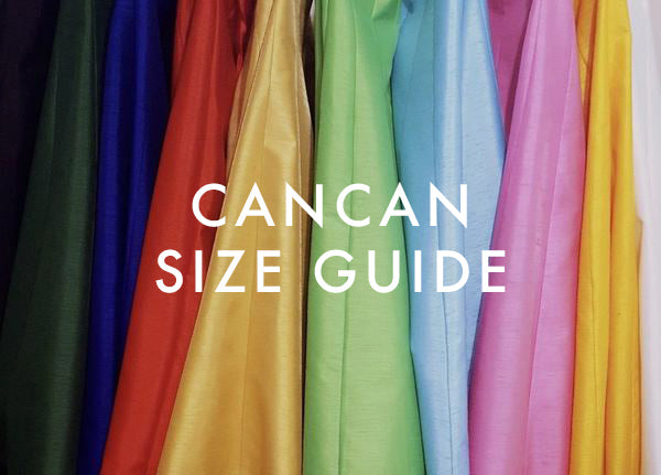 Cancan Skirt Size Guide TiaBhuva.com