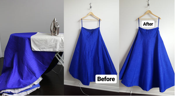 Cancan Skirt TiaBhuva.com Care Instructions