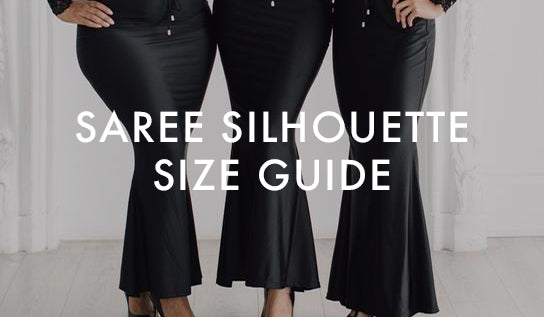 Saree Silhouette Size Guide