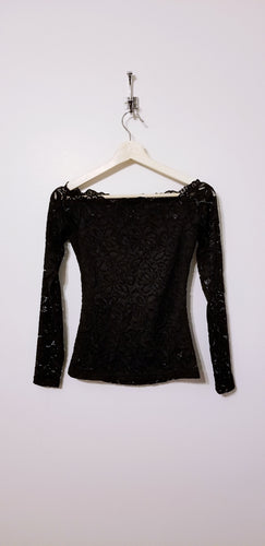 Long Sleeve Lace Blouse