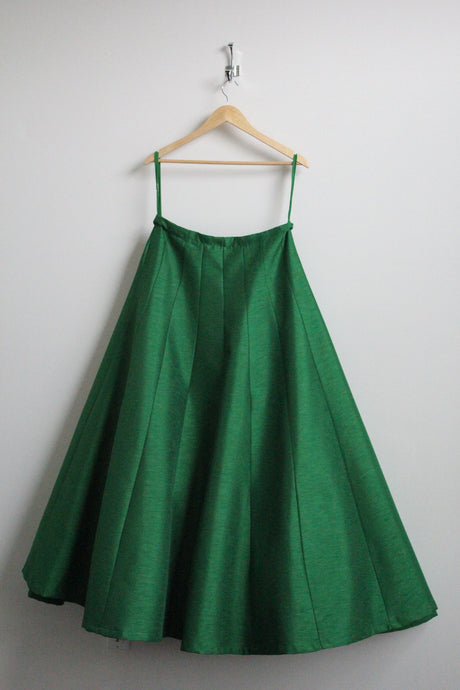 Emerald Green Cancan Skirt
