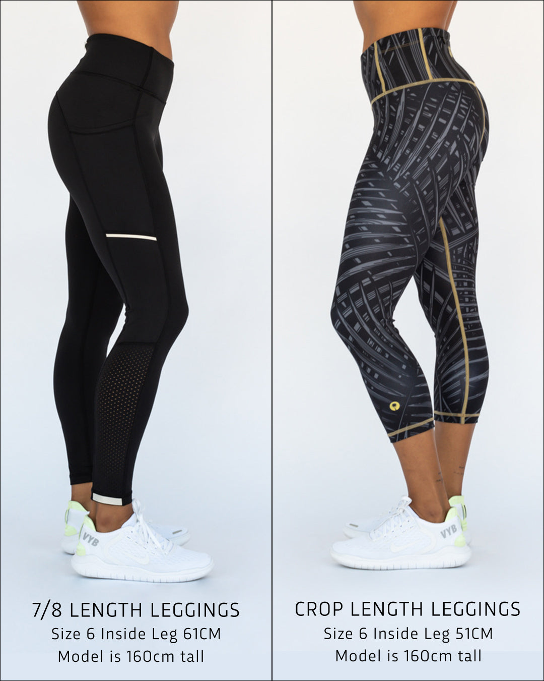 VYB ACTIVE LEGGING GUIDE