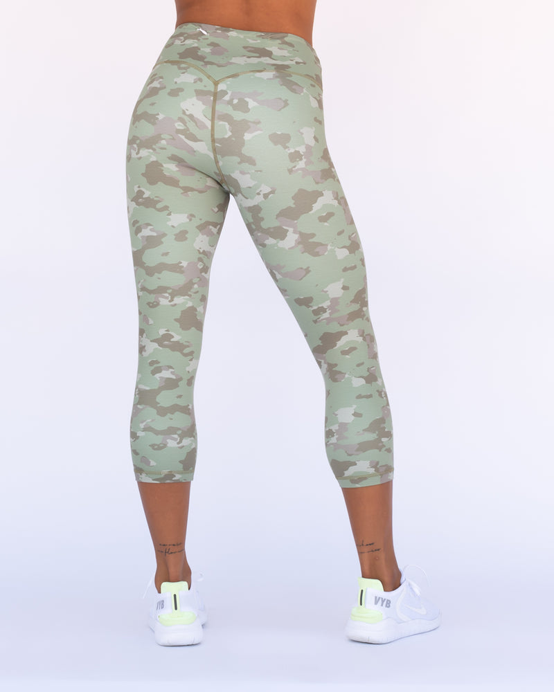 Camo Leggings 3/4 Length