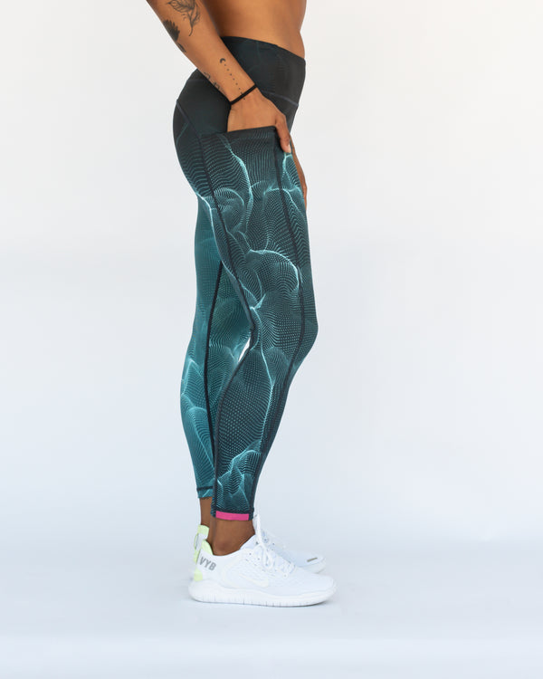 Tropical Storm VT 7/8 Length Tights