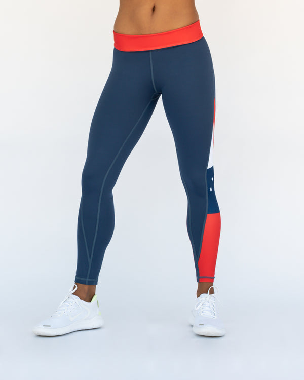 'True Blue' Functional Training Tights