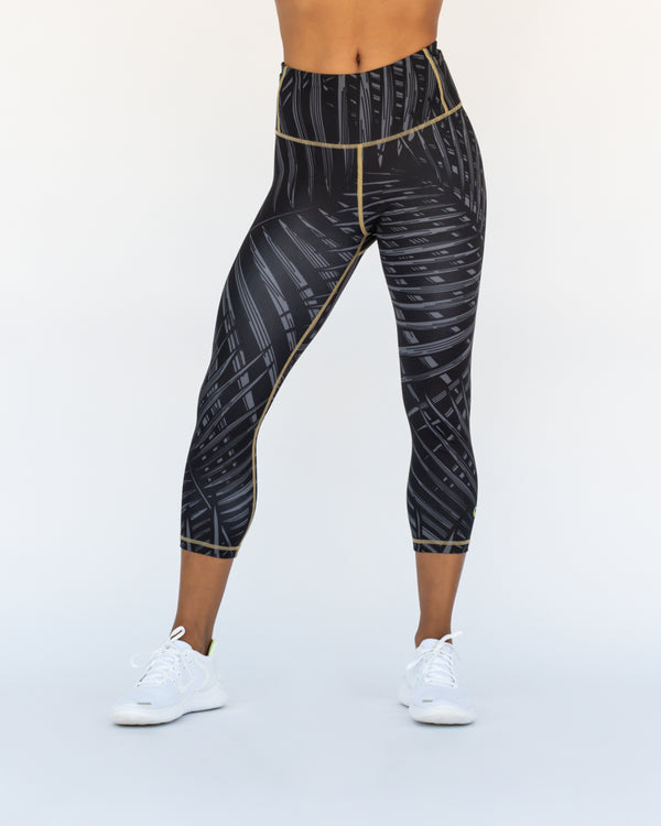 Moonshine Palms Crop Leggings