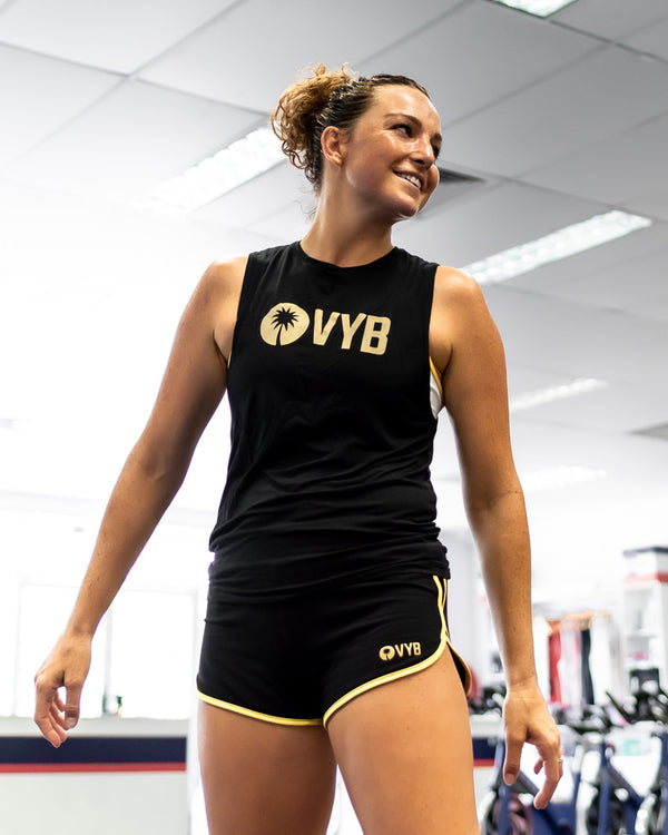 VYB LUXE BLACK TANK