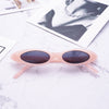 Brand Oval Sunglasses Women Men Cool Glasses Small Size Frame High Quality Eyewear UV400 - CoventryMall