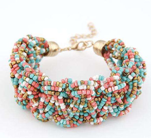 Woman Bracelets Hot Brand made with Swarovski Stone u10 - CoventryMall