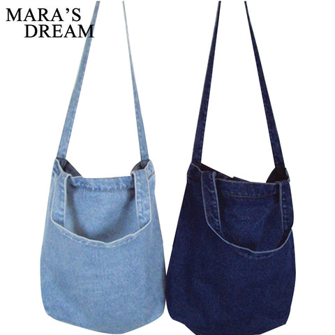 Women Bag Mara's Dream Denim Tote Ladies Large Capacity Shoulder Bags under 10 - CoventryMall