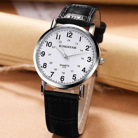Ladies & Gent Wrist Watch Leather Strap u10 - CoventryMall
