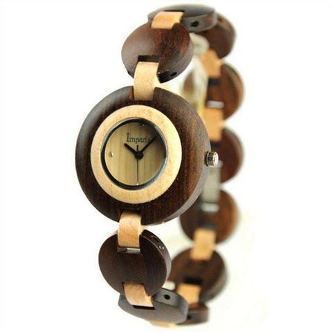 Relogio feminino  Wooden Wrist Watch - CoventryMall