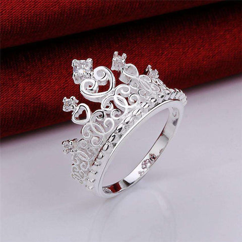 Princess Tiara Ring - CoventryMall