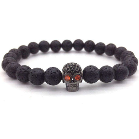 Red eyes Skull Bracelets - CoventryMall