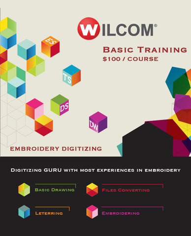 Basic Digitizing Course - Basic Training + Embroidery Software