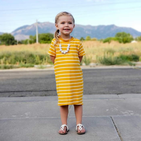Stripes Tee Shirt Dresses