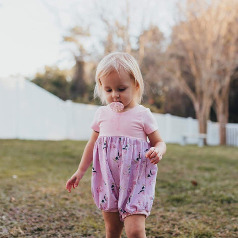 Valentines Bubble Rompers