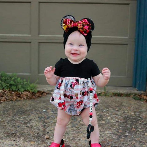 Mickey/Minnie Bubble Rompers