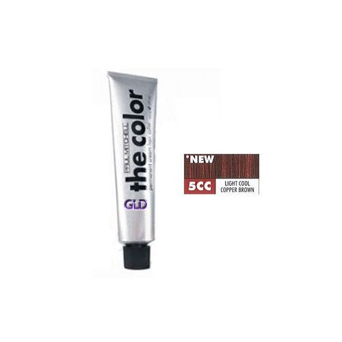 Paul Mitchell The Color Permanent Cream Hair Color 5CC Light Cool Copper Brown