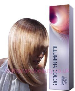 Wella Professionals Illumina Permanent Hair Color - 7/35 Medium Gold Mahogany Blonde