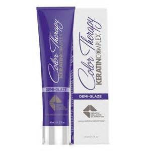 Keratin Complex Demi Glaze Demi Permanent Hair Color 2 Oz- 9.0 Ultra Light Violet Blonde