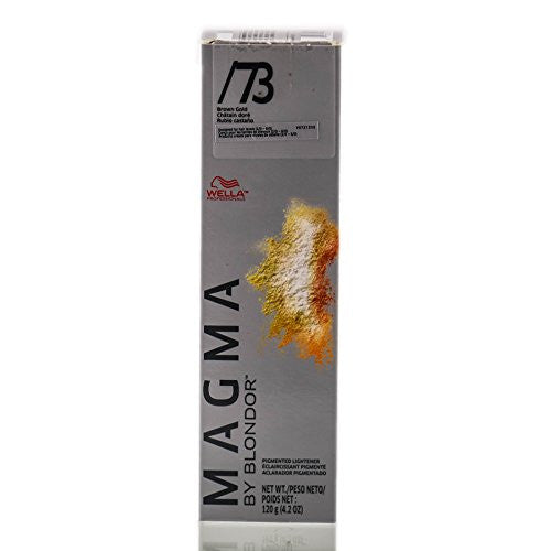 Wella Magma By Blondor Pigmented Lightener - /73 Brown Gold - 4.2 oz