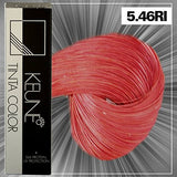 Keune Tinta Color + Silk Protein Hair Color (5.46 RI LIGHT INFINITY COPPER RED BROWN)
