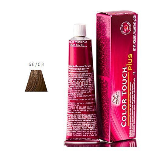 Wella Color Touch Plus - Intense Dark Brown/Natural Gold- 66/03
