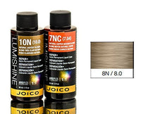 Joico Lumishine Demi Permanent Liquid Color - Natural Blonde 8N - 2 oz