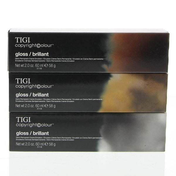 2014 Tigi Copyright Colour Creative Permanent Creme Emulsion light auburn brown - 5/6 5R