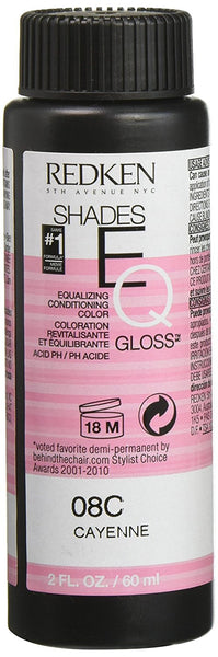 Redken Shades EQ Gloss for Women Hair Color, Cayenne, 2 Ounce