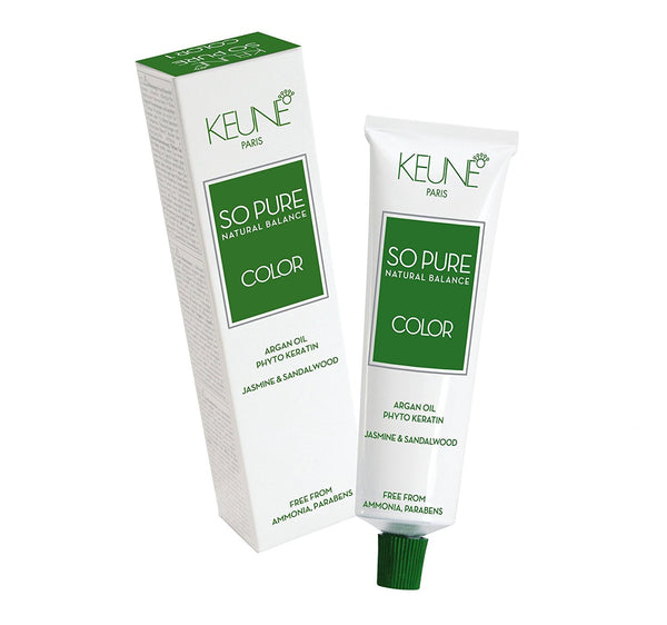 Keune So Pure Permanent Hair Color 100% Ammonia Free & Paraben Free