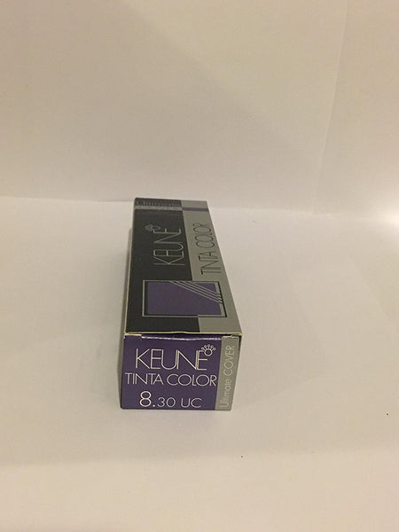 Keune Tinta Color + Silk Protein Hair Color Ultimate Cover 8.30 UC