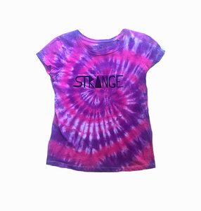 Pink and Purple Tie-dye Tee