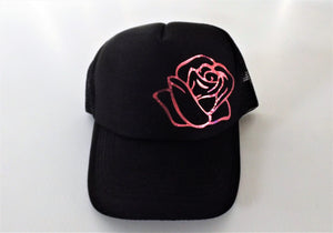 Rose Cap - Reflective Shiny Pink