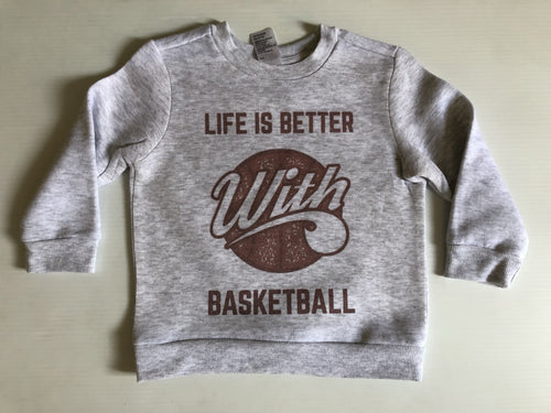 Life is Better with Basketball Jumper
