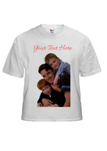 Make Your Own T-Shirt - Image with Text